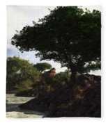 Landscape 082510 Fleece Blanket