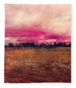 Landscape 1 Riga Fleece Blanket