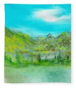 Landscape 101510 Fleece Blanket