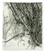 Landscape - 78 Fleece Blanket