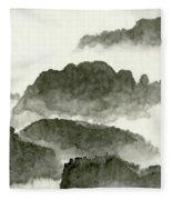 Landscape - 80 Fleece Blanket