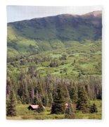 Landscape Alaska  Fleece Blanket