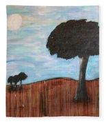 Landscape - Distant Cousins Fleece Blanket