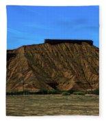 Landscape Scenery Valley Of Fire  Fleece Blanket