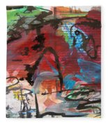 Landscape Sketch16 Fleece Blanket