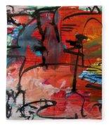 Landscape Sketch18 Fleece Blanket