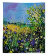 Landscape With Cornflowers 459060 Fleece Blanket