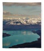 Landscapes Of Alaska Fleece Blanket
