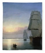 Lane: Boston Harbor Fleece Blanket