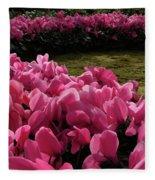 Lane Of Pink Fleece Blanket