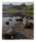 Langdale Pikes And Blea Tarn Fleece Blanket