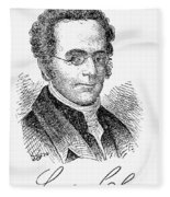 Langdon Cheves (1776-1857) Fleece Blanket