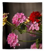 Lantana  Fleece Blanket