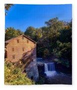 Lanterman's Mill Fleece Blanket