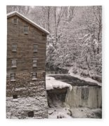 Lanterman's Mill Fleece Blanket