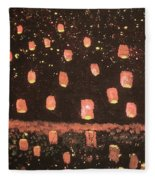 Lanterns  Fleece Blanket