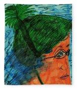 Lap Swim Fleece Blanket