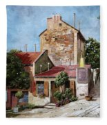 Lapin Agile Fleece Blanket