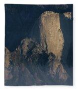 Large Granite Mountains In California Fleece Blanket