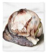 Large Hyatid Cyst In Spleen Fleece Blanket