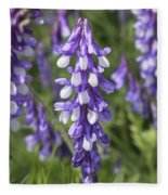 Larkspur Fleece Blanket