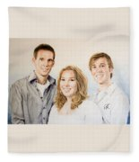 Lars Niels And Ilse Fleece Blanket