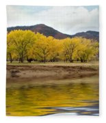 Las Animas Fall Fleece Blanket