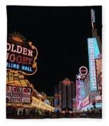 Las Vegas 1983 #6 Fleece Blanket