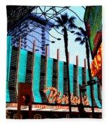 Las Vegas Lights II Fleece Blanket