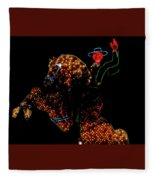 Las Vegas Lights Fleece Blanket