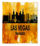 Las Vegas Nv 3 Vertical Fleece Blanket