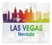 Las Vegas Nv  Fleece Blanket