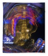 Las Vegas Strip 2224 Fleece Blanket