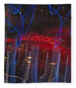 Las Vegas Strip 2302 Fleece Blanket
