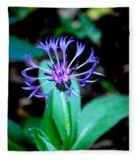 Last Flower In The Garden Fleece Blanket