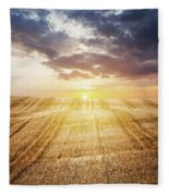 Last Glow Fleece Blanket