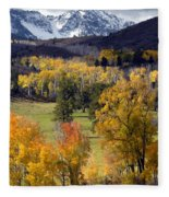 Last Light Before The Storm Fleece Blanket