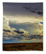 Last Storm Chase Of 2017 001 Fleece Blanket