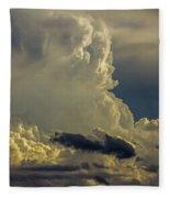 Last Storm Chase Of 2017 002 Fleece Blanket