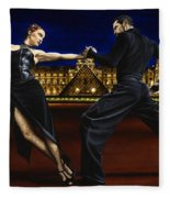 Last Tango In Paris Fleece Blanket