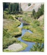 Latah Creek Fleece Blanket