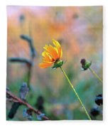 Late Summer Rain From The Forest Floor Fleece Blanket