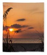 Late Sunrise 3 Fleece Blanket
