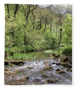 Lathkill River Fleece Blanket