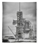Launch Pad 39a Fleece Blanket