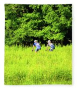Laurel Hill Park Road Fleece Blanket