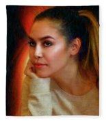 Lauren Luna Fleece Blanket