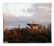 Lauttasaari Water Tower Fleece Blanket