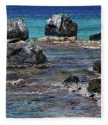 Lava Field Fleece Blanket