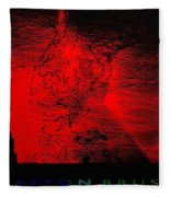 Lava Fountain Fleece Blanket
